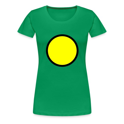 Circle yellow svg - Women's Premium T-Shirt