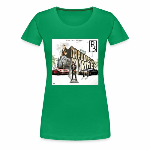 p3 mixtape cover - Women's Premium T-Shirt