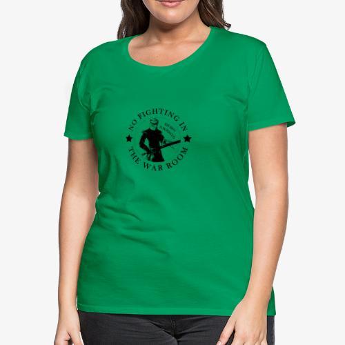 The Black Knight - Motto - Women's Premium T-Shirt