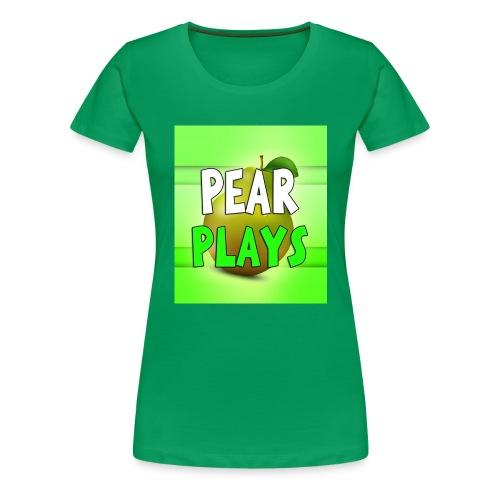 Phone Case Pear Plays Logo - Women's Premium T-Shirt