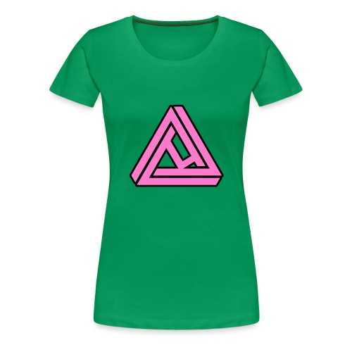Breast Cancer Awareness Logo - Women's Premium T-Shirt