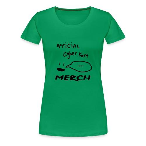 smiley speech design - Women's Premium T-Shirt
