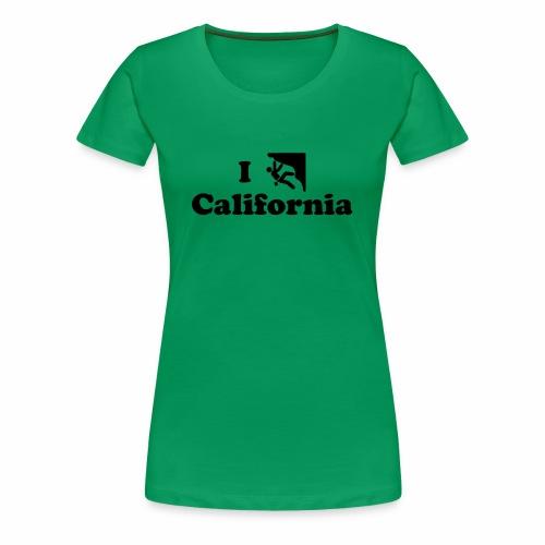 california rock climbing - Women's Premium T-Shirt