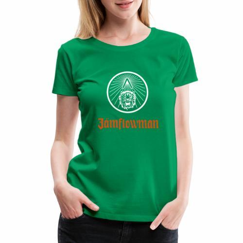 Jamflowman - Women's Premium T-Shirt