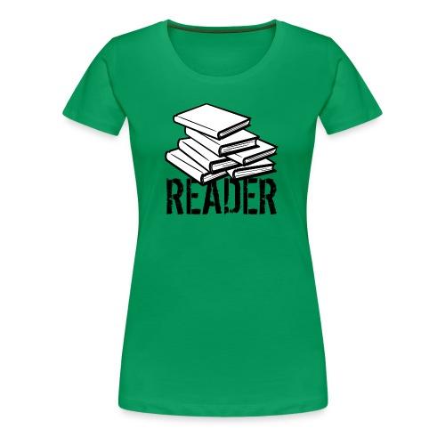 reader - Women's Premium T-Shirt