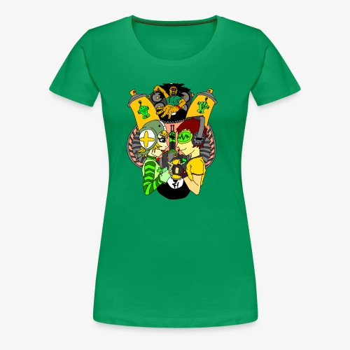 JGR Fantasy - Women's Premium T-Shirt