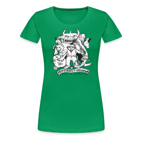 mysteriesfinal png - Women's Premium T-Shirt