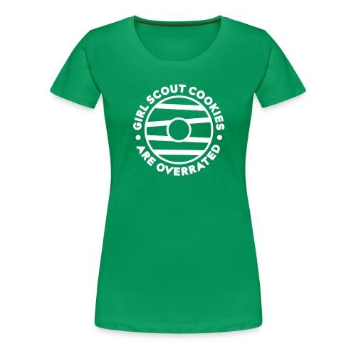 Overrated Cookies - Women's Premium T-Shirt