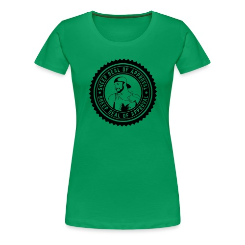Sheep Seal Of Approval (Limited Edition) - Women's Premium T-Shirt
