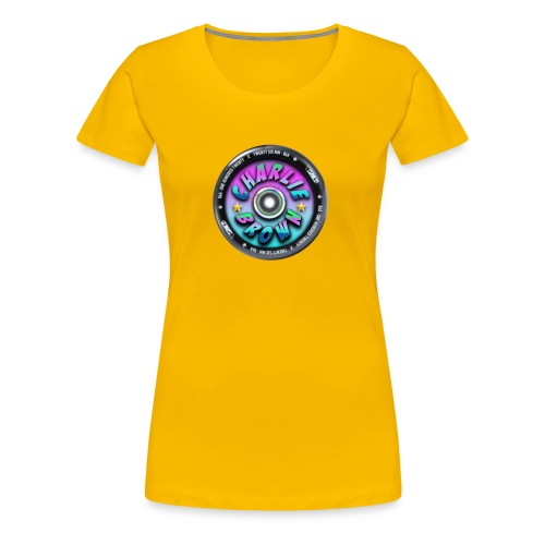 Charlie Brown Logo - Women's Premium T-Shirt