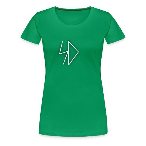 Sid logo white - Women's Premium T-Shirt