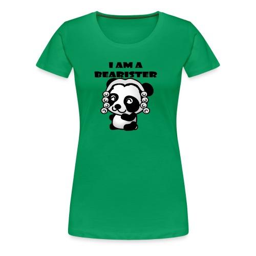I am a bearister - Women's Premium T-Shirt