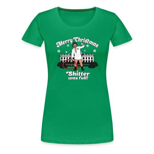 Joe Biden as Cousin Eddie - Merry Christmas 46 - Women's Premium T-Shirt