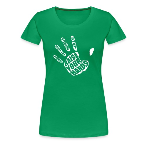 Stop Stealing from the Learning - Women's Premium T-Shirt