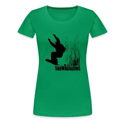 Snowboarding - Women's Premium T-Shirt