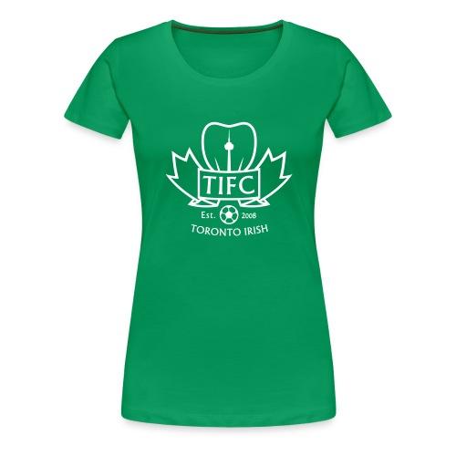 Toronto Irish logo - Women's Premium T-Shirt