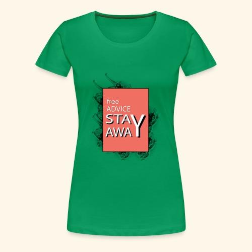 free advice - Women's Premium T-Shirt