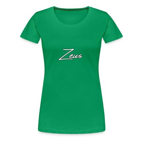 Zeus Signature Style - Women's Premium T-Shirt