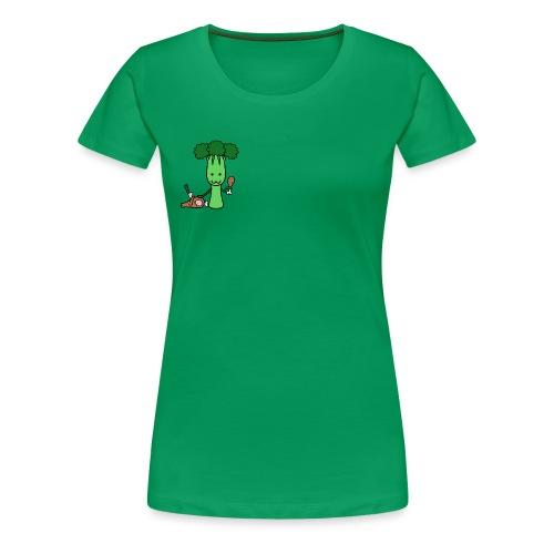 Carnivorous Broccoli - Women's Premium T-Shirt