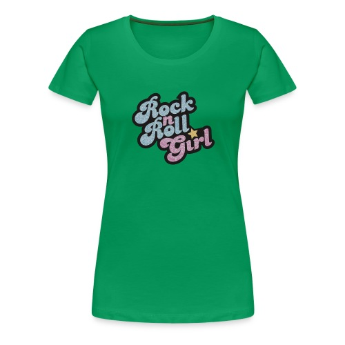 Rock n Roll Girl - Women's Premium T-Shirt