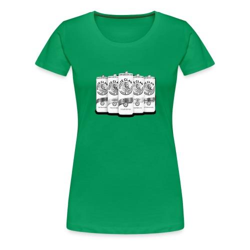 white claw beer - Women's Premium T-Shirt
