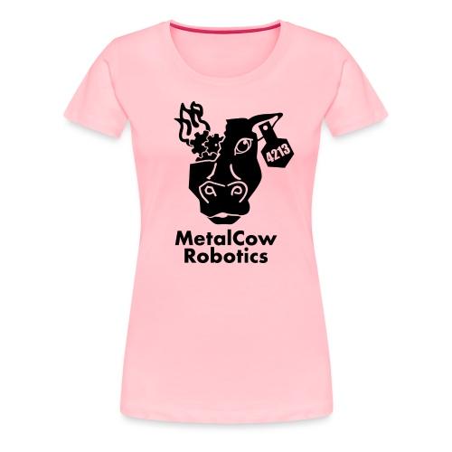 MetalCow Solid - Women's Premium T-Shirt