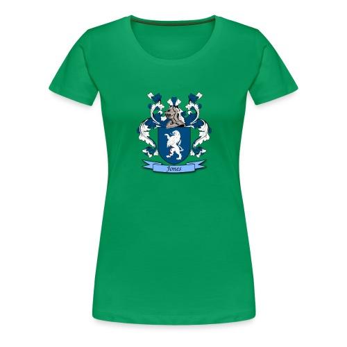 Jones Family Crest - Women's Premium T-Shirt