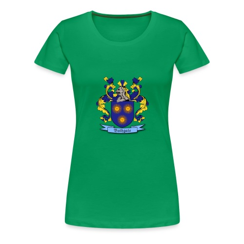 Bathgate Family Crest - Women's Premium T-Shirt