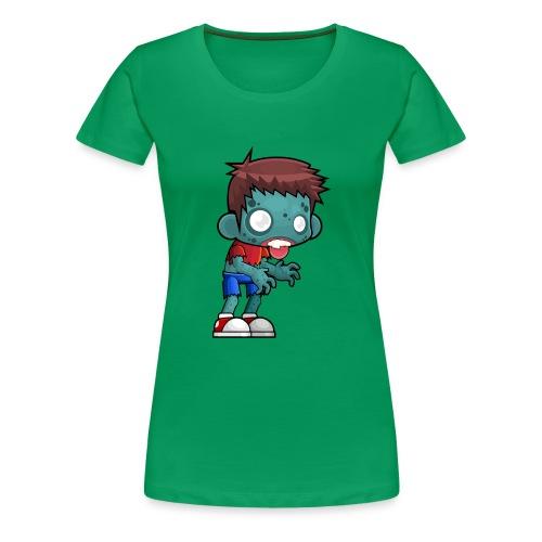 male zombie - Women's Premium T-Shirt