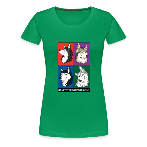 The Husky Girls - Women's Premium T-Shirt