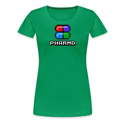 PharmD Stacked Logo - Women's Premium T-Shirt