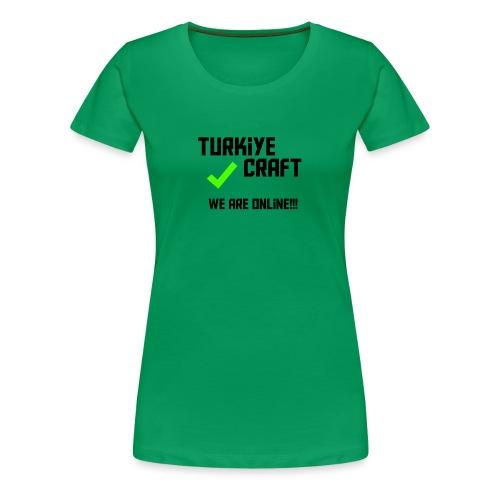 we are online boissss - Women's Premium T-Shirt