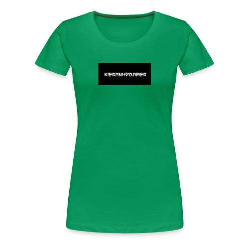 KieranHDGamer - Women's Premium T-Shirt