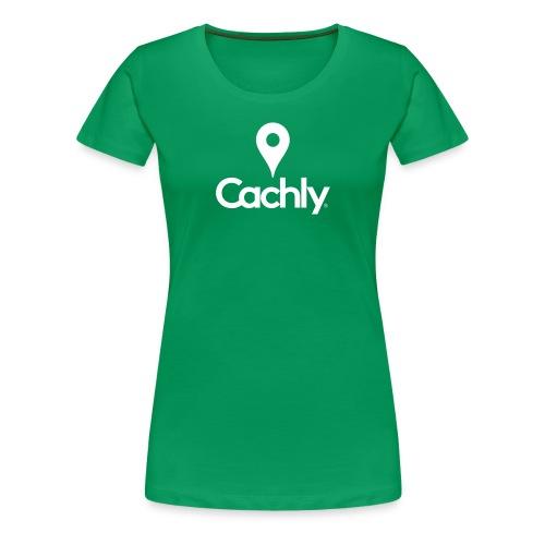 Logo White - New Design - Women's Premium T-Shirt