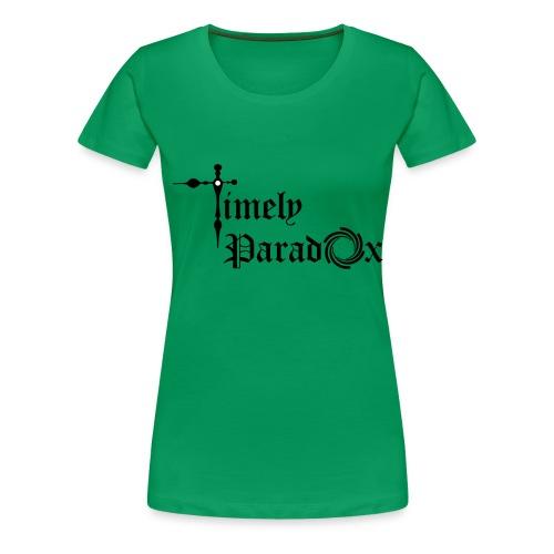 Timely Paradox - Women's Premium T-Shirt