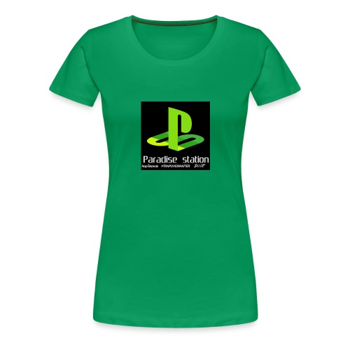 Paradise green - Women's Premium T-Shirt