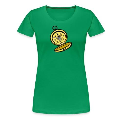 Compass - Women's Premium T-Shirt