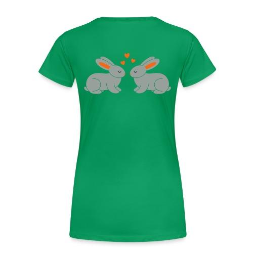 Rabbit Love - Women's Premium T-Shirt