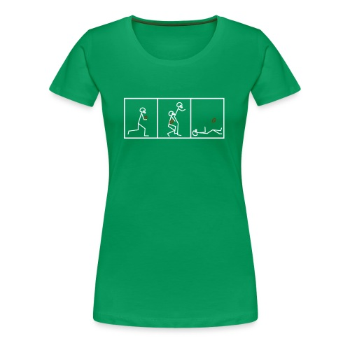 BUTTFUMBLE 6 (With Cartoon) - Women's Premium T-Shirt