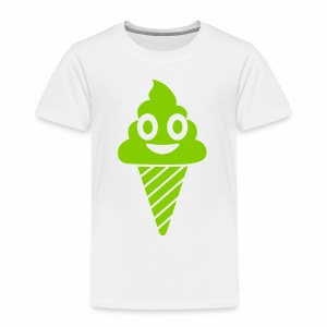 Smiling Ice Cream - Toddler Premium T-Shirt