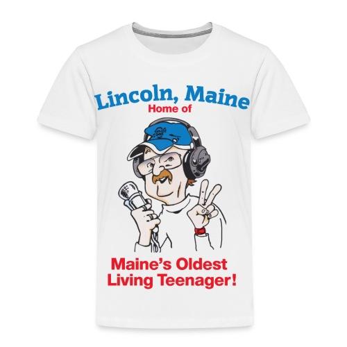 Maine's Oldest Living Teenager - Toddler Premium T-Shirt