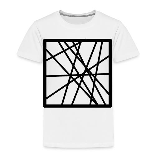Square Line - Toddler Premium T-Shirt