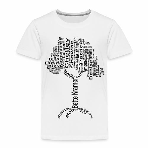 Bette Kramer Family Tree - Toddler Premium T-Shirt