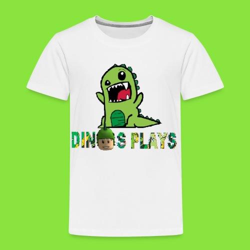 dinos plays - Toddler Premium T-Shirt
