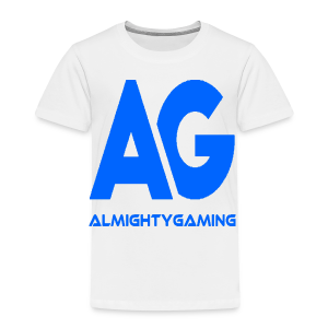 AlmightyGaming (Blue Edition!) - Toddler Premium T-Shirt