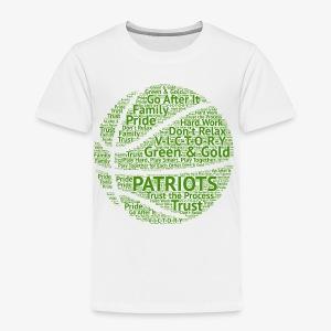 Pats Basketball Green - Toddler Premium T-Shirt
