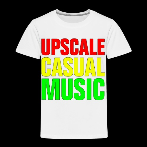 Upscale Casual Music Rasta T - Toddler Premium T-Shirt