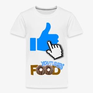 La nourriture de Youtuber - T-shirt premium pour enfants