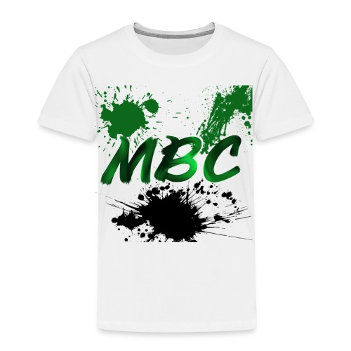 MinerBroConnor With Splatter - Toddler Premium T-Shirt