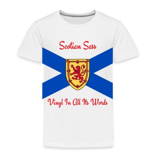 Scotian Sass Transparent - Toddler Premium T-Shirt